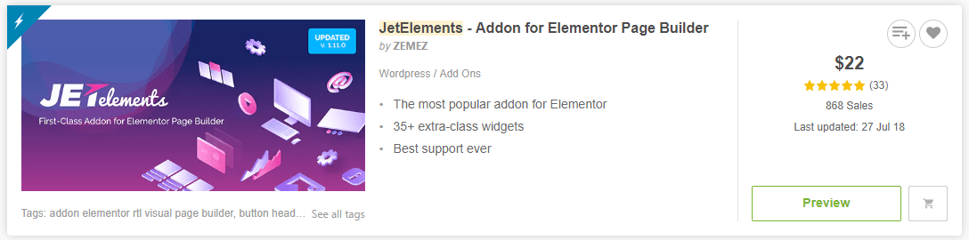 jetelements codecaynon