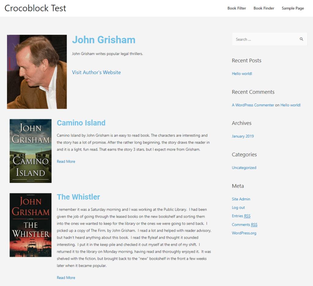 crocoblock author single