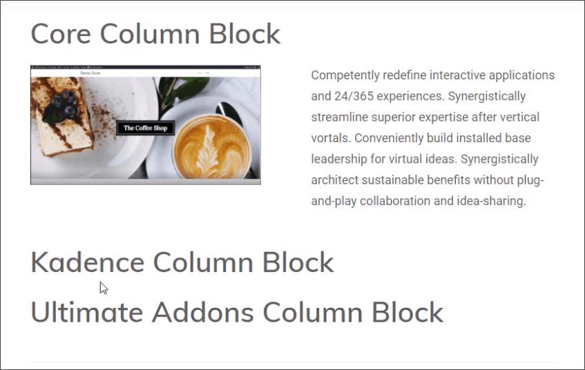 blocks disabled front-end