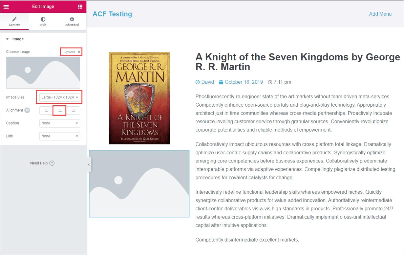 adding author image