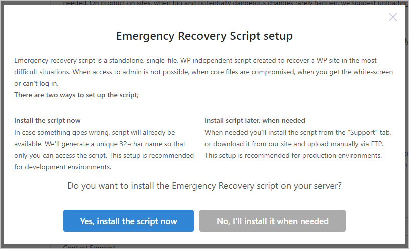 Wp Reset Onboarding Wizard Step 3 Emergency Recovery Script