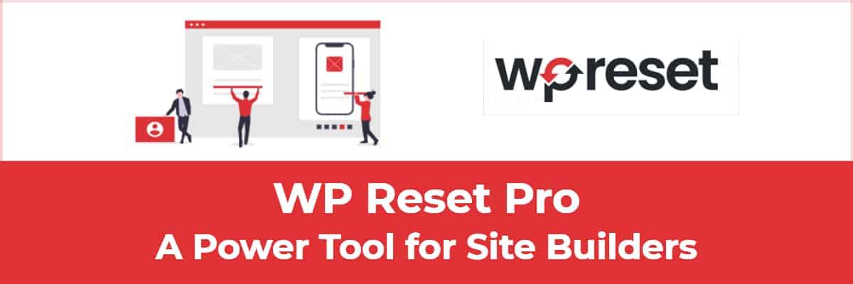 WP Reset Pro