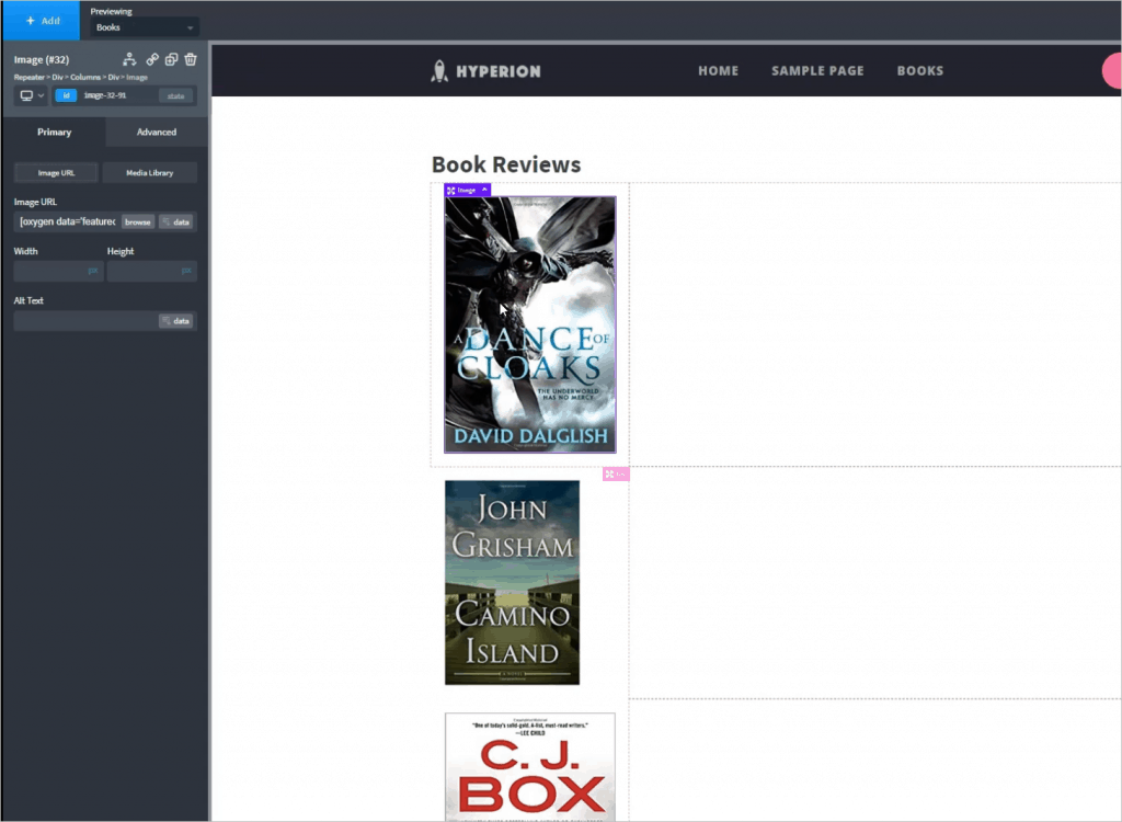 Book Archive Featured Image Added