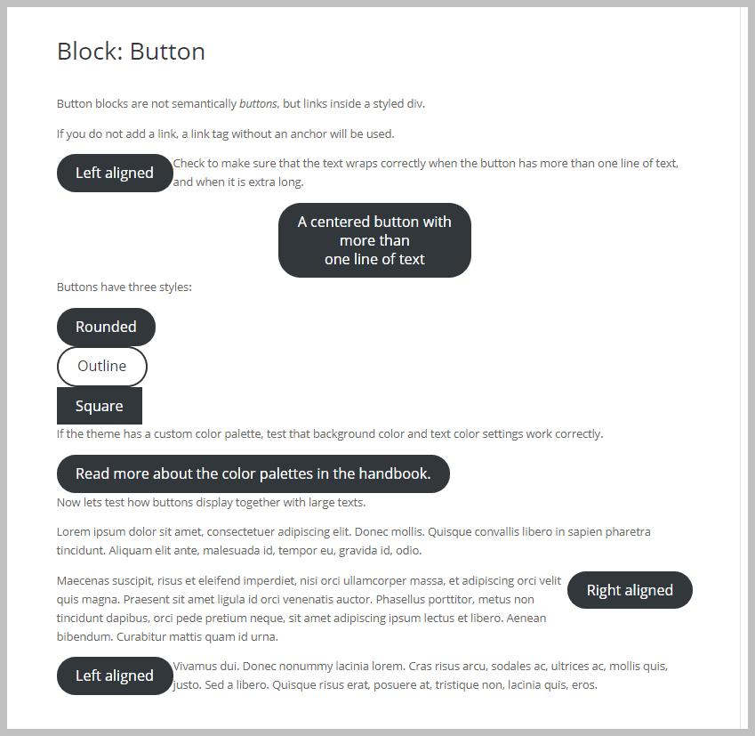 Divi Button Block