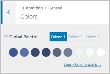 Webtng Color Palette
