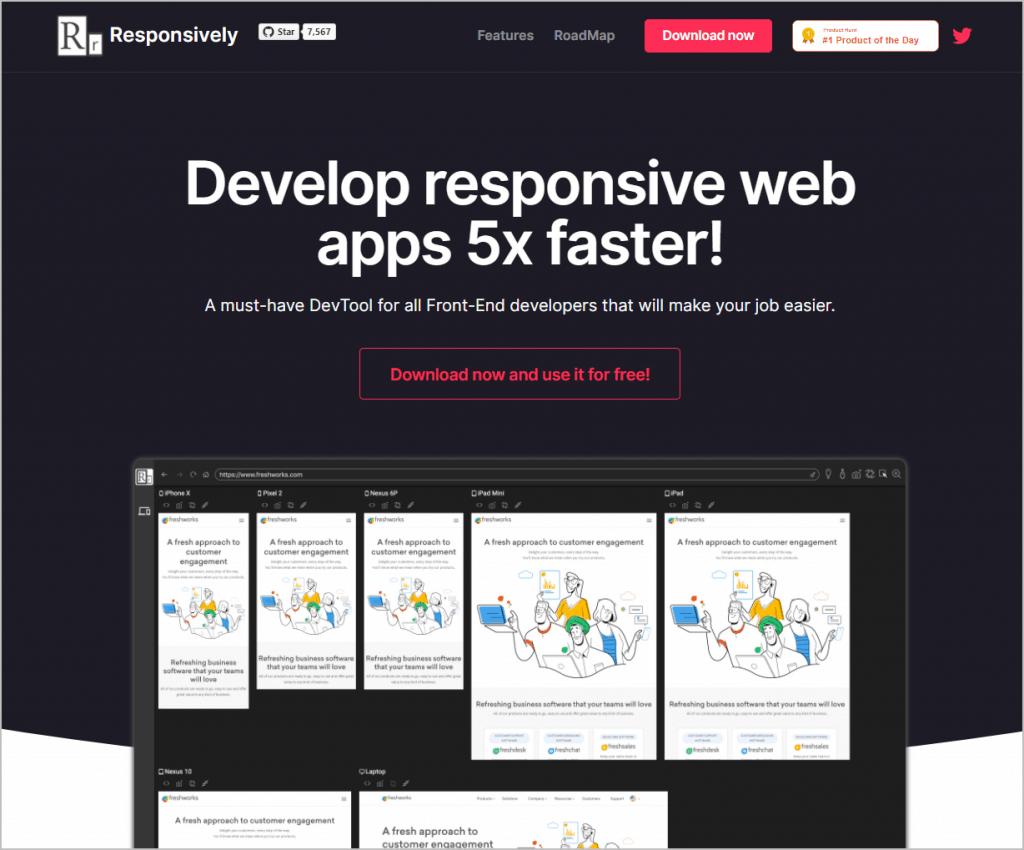 Responsively App Website