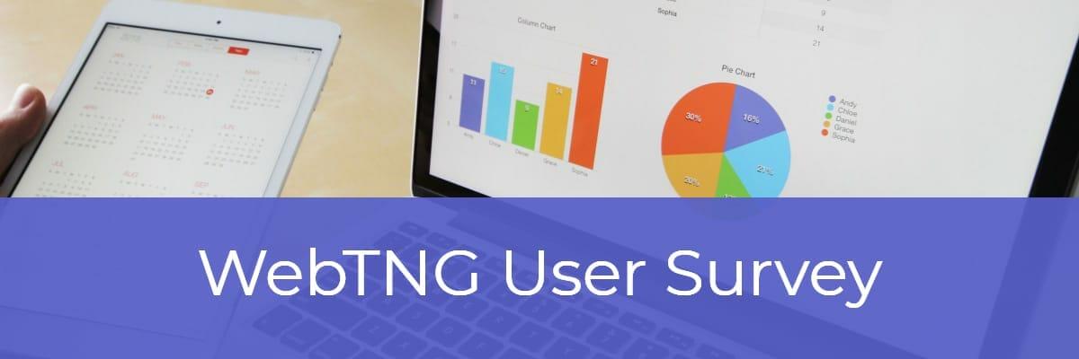 WebTNG User Survey