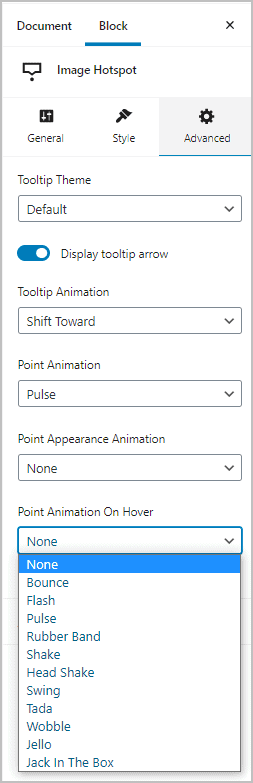 On Hover Animations