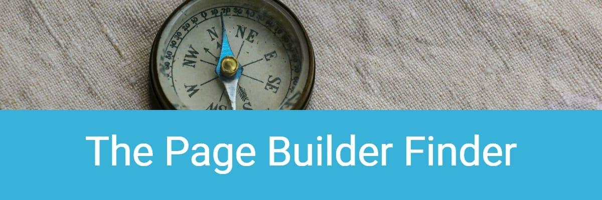The Page Builder Finder