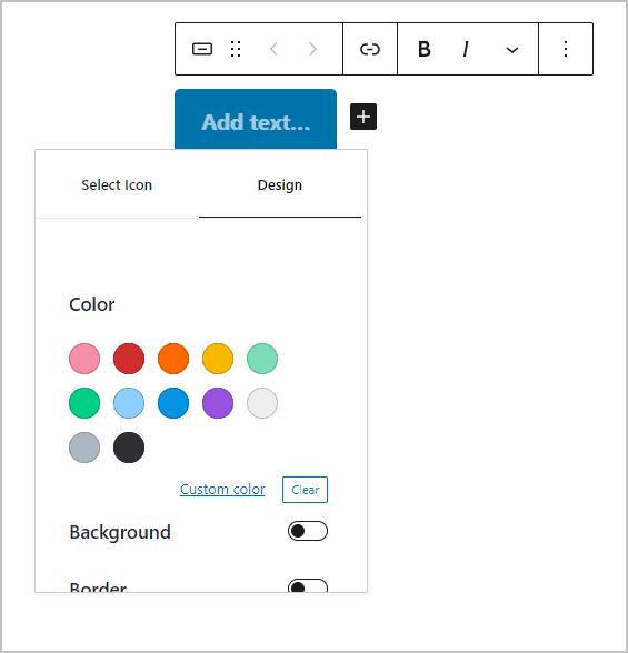 Design Settings