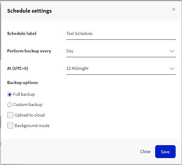 pro schedule options