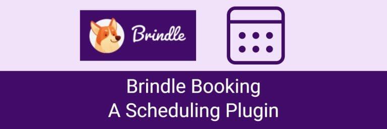 Brindle Booking: A Scheduling Plugin