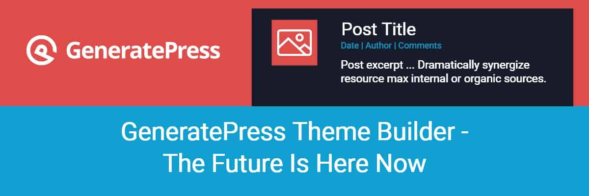 generatepress theme builder