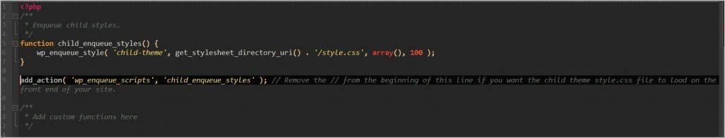 stylesheet loading enabled