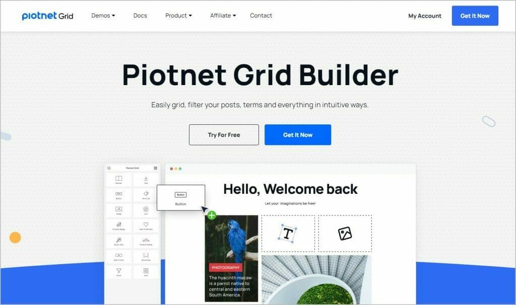 piotnet grid website