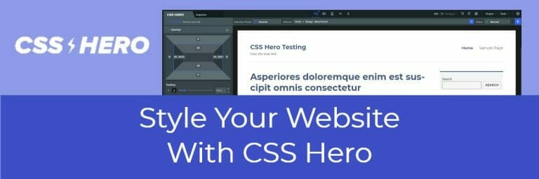 Style Your Website With CSS Hero